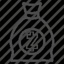 bill, cash, money, savings, zcash icon