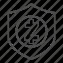 guarantee, safe, security, zcash icon
