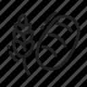bakery, bread, grain, wheat icon