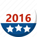 america, election, star, vote, voting icon