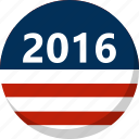 america, election, flag, stripes, vote, voting icon