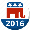 america, election, republican, vote, voting icon