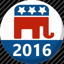 america, election, republican, vote, voting icon