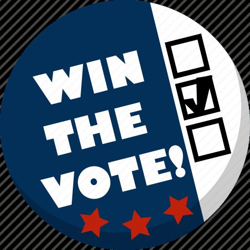 america, ballot, check, election, vote, voting icon
