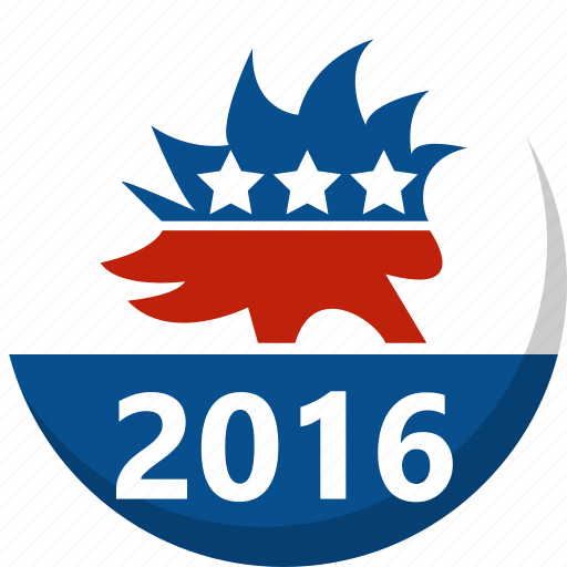 america, election, libertarian, porcupine, vote, voting icon