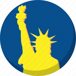 america, election, liberty, statue, vote, voting icon