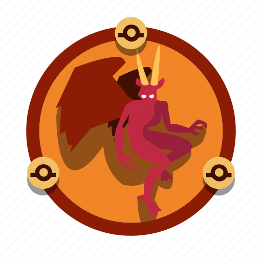 dungeons, fantasy, imp, magic, roleplay, spell icon