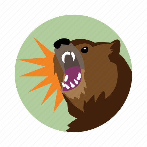 bear, dungeons, fantasy, magic, roleplay, spell icon