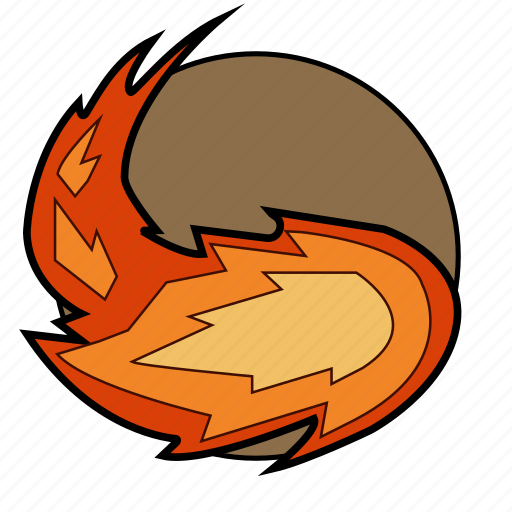 dungeons, fantasy, fire, fireball, magic, roleplay, spell icon