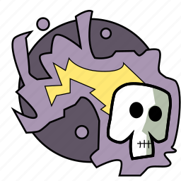 dungeons, fantasy, magic, roleplay, skeleton, spell icon
