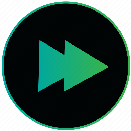 arrow, play, player, right, speed, video icon