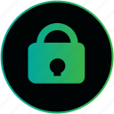 a lock, blocked, lock, locker, password, project, protect icon