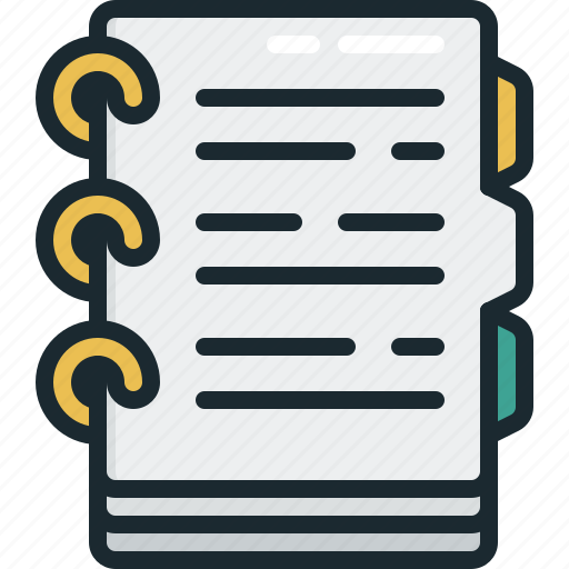 checklist, document, list, notes icon