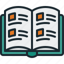 event, time, yearbook icon