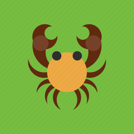 animal, cancer, crap, horoscope, zodiac icon