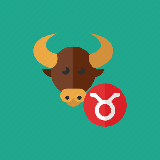 animal, astrology, cow, horoscope, taurus, zodiac icon