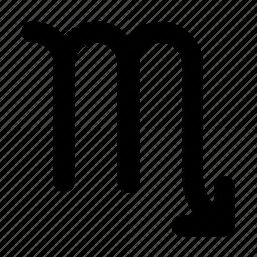 astrology, horoscope, mobile, scorpio, sign, zodiac icon