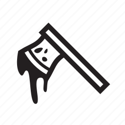 axe, blood, waepon icon