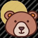 animal, bear, farm, pet, ranch icon