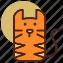 animal, cat, farm, pet, ranch icon