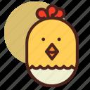 animal, chicken, farm, pet, ranch icon