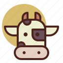 animal, cow, farm, pet, ranch icon