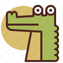 animal, crocodile, farm, pet, ranch icon