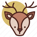 animal, deer, farm, pet, ranch icon
