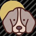 animal, dog, farm, pet, ranch icon