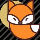 animal, farm, fox, pet, ranch icon