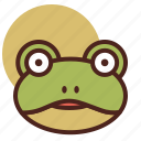 animal, farm, frog, pet, ranch icon