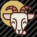 animal, farm, goat, pet, ranch icon