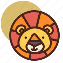 animal, farm, lion, pet, ranch icon