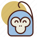 animal, farm, monkey, pet, ranch icon