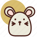 animal, farm, mouse, pet, ranch icon