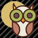 animal, farm, owl, pet, ranch icon
