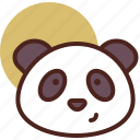 animal, farm, panda, pet, ranch icon