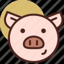 animal, farm, pet, pig, ranch icon