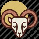 animal, farm, pet, ram, ranch icon