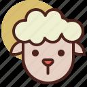 animal, farm, pet, ranch, sheep icon