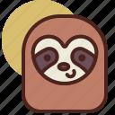 animal, farm, pet, ranch, sloth icon