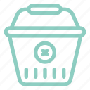 bag, cancel, ecommerce, sale, shop, shopping