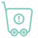 attention, commerce, ecommerce, shopping, trolley