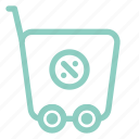 commerce, discount, ecommerce, shopping, trolley