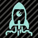 business, launch, rocket, startup