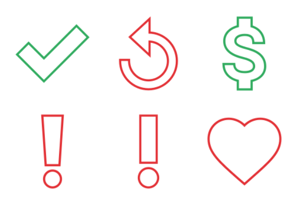 Colored Outline Icons By Web Lab X