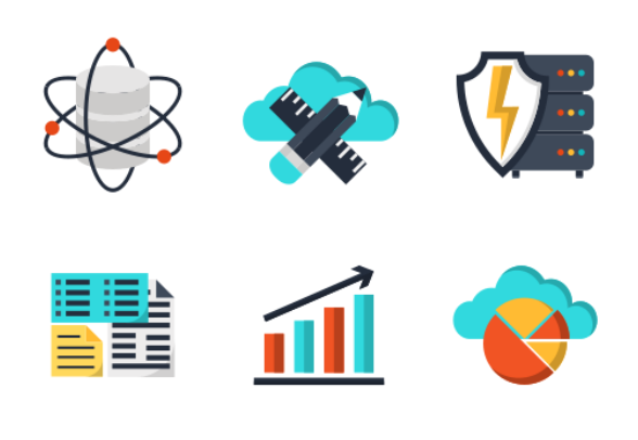 Data Science Icons By Maxim Baltag
