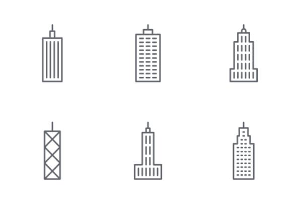 'Skyscraper - Outline' by Ricardo Ruiz
