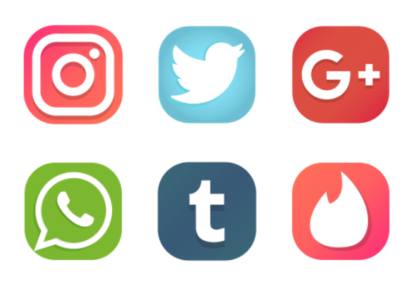 Iconset:social-media-icons-23 icons - Download 12 free ...