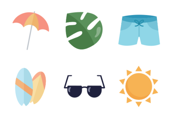 eb05b9595483 Summer icons by Meredith House
